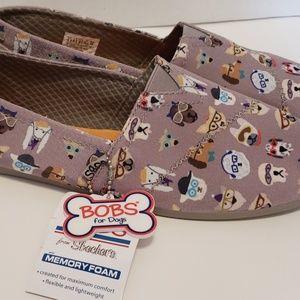 Sketchers Bob's for Dog's Slip-on Shoe Women's